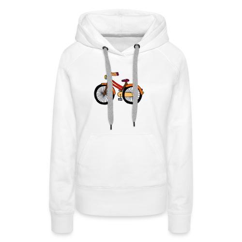 Hipster Bike Shirt 2016 Collection Verano Summer - Sudadera con capucha premium para mujer