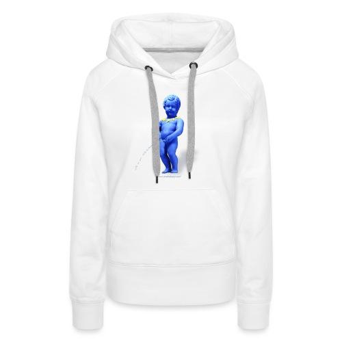 EUROPA mannekenpis ♀♂ | Enfant - Sweat-shirt à capuche Premium pour femmes