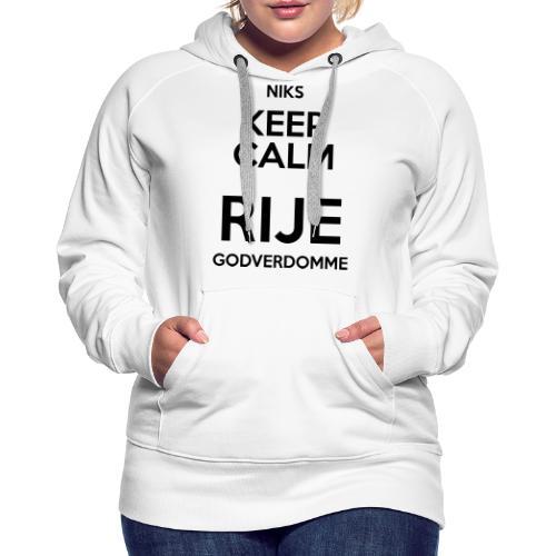 NIKSKALM - Vrouwen Premium hoodie