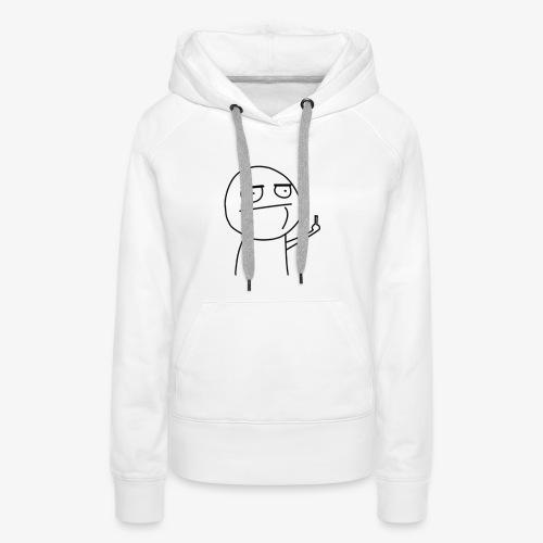 Fuck by Slaaw - Sweat-shirt à capuche Premium pour femmes