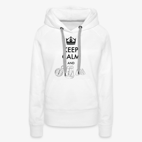 keepcalmandexplore - Women's Premium Hoodie