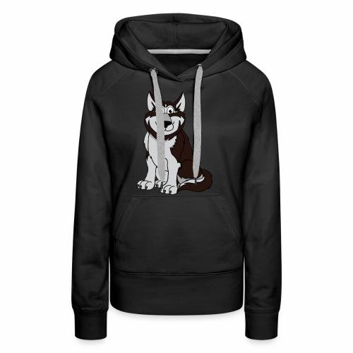 Husky - Frauen Premium Hoodie