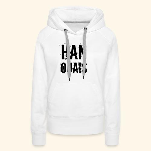 Han ouais basic tribunal charleroi - Sweat-shirt à capuche Premium pour femmes