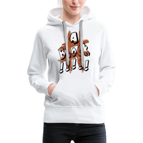 H-Tag A Block - Sweat-shirt à capuche Premium pour femmes