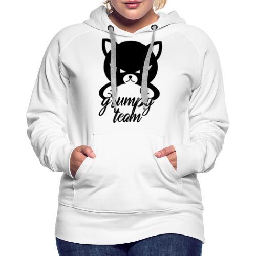 grumpy team - Frauen Premium Hoodie