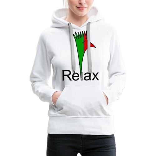 Galoloco - « Relax » - Sweat-shirt à capuche Premium pour femmes