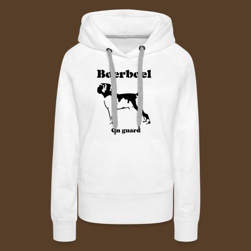 Boerboel on Guard - Frauen Premium Hoodie