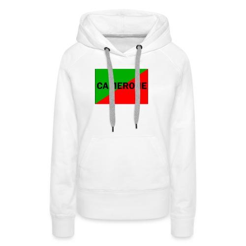 Camerone - Sweat-shirt à capuche Premium pour femmes