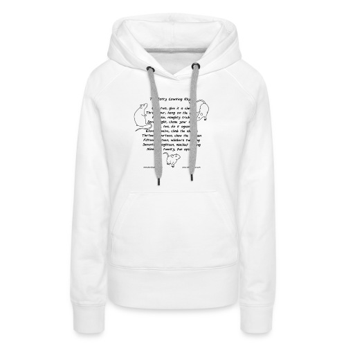 Ratty counting rhyme - Women's Premium Hoodie