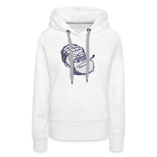 Roadman Monkey T-shirt - The Imp Of Walthamstow - Women's Premium Hoodie