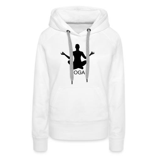 YOGA - Frauen Premium Hoodie