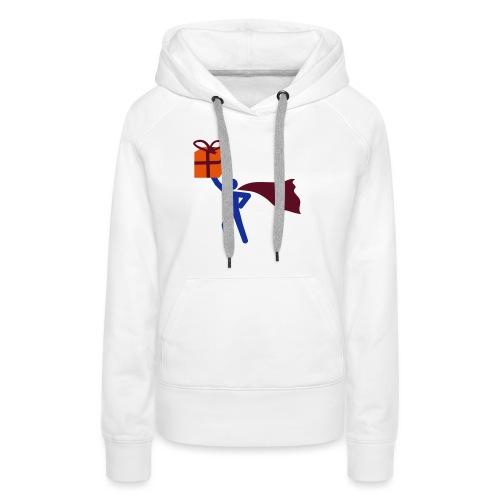 geschenk HEH 3 farb vektor - Frauen Premium Hoodie