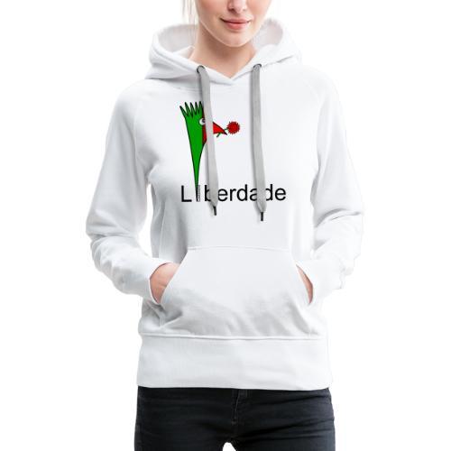 Galoloco - Liberdaded - 25 Abril - Sweat-shirt à capuche Premium pour femmes