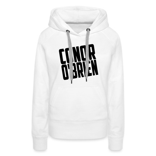 The Conor O'Brien Logo - Women's Premium Hoodie