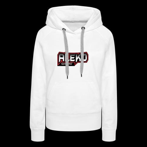 Aleko Gaming Logo text - Frauen Premium Hoodie