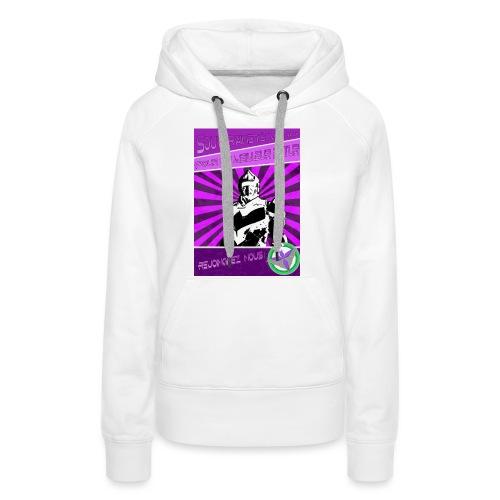 Pour Vanu - Sweat-shirt à capuche Premium pour femmes