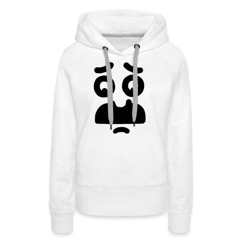 Helmi the Face – Nr. 10 - Frauen Premium Hoodie