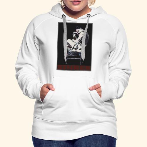 nimbes - Sweat-shirt à capuche Premium pour femmes