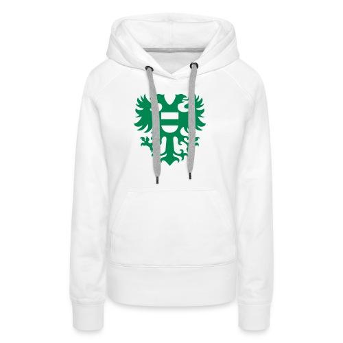 stadswapen groningen mono - Vrouwen Premium hoodie