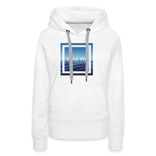 Calm Hipster T-Shirt - Frauen Premium Hoodie