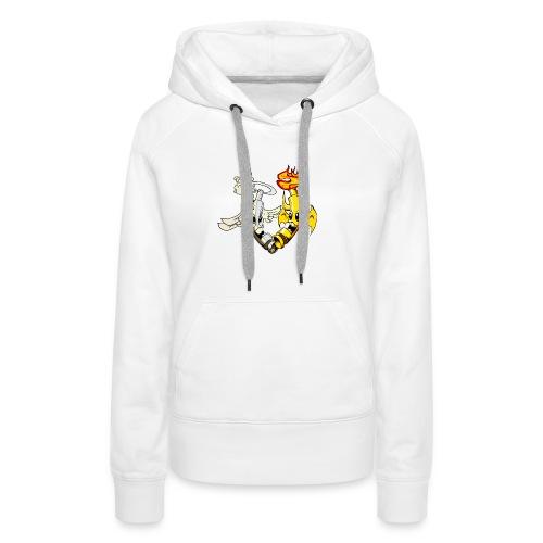 engel_teufel_color_ohne_s - Frauen Premium Hoodie