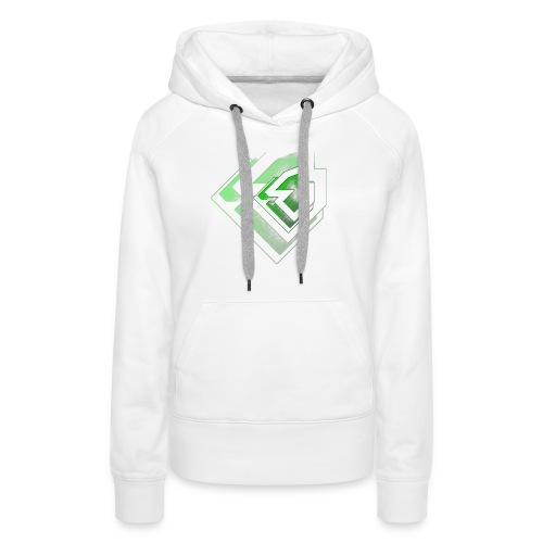 BRANDSHIRT LOGO GANGGREEN - Vrouwen Premium hoodie