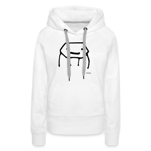 Strichmännchen - Frauen Premium Hoodie