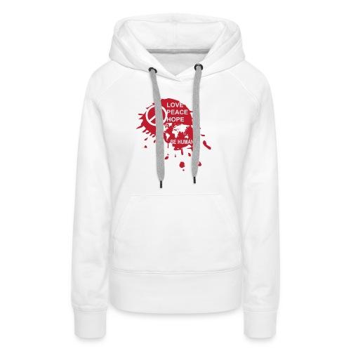 Love Be Human - Vrouwen Premium hoodie