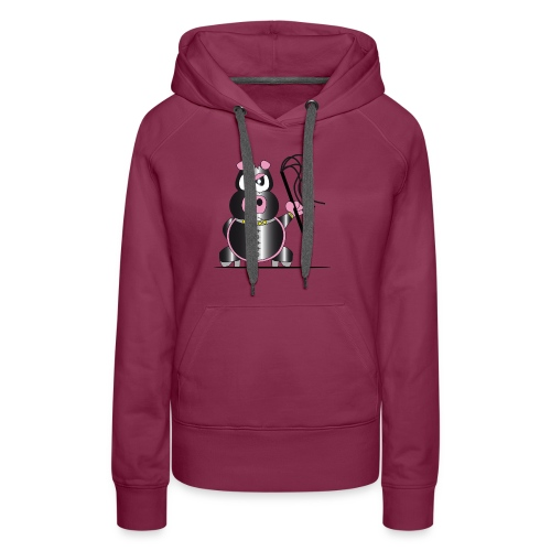 Schweinchen Sado - Frauen Premium Hoodie