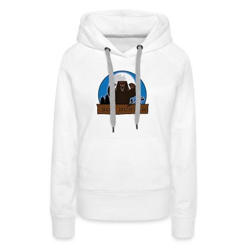 3D_bär - Frauen Premium Hoodie