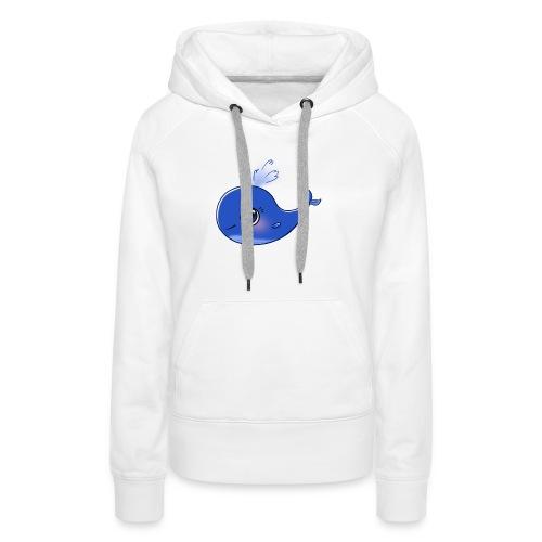 Mini Whale - Women's Premium Hoodie