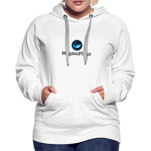 MagmaPlayz shark - Dame Premium hættetrøje
