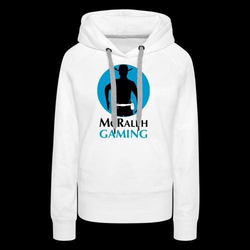 McRalph Gaming Logo 2 Bl - Frauen Premium Hoodie