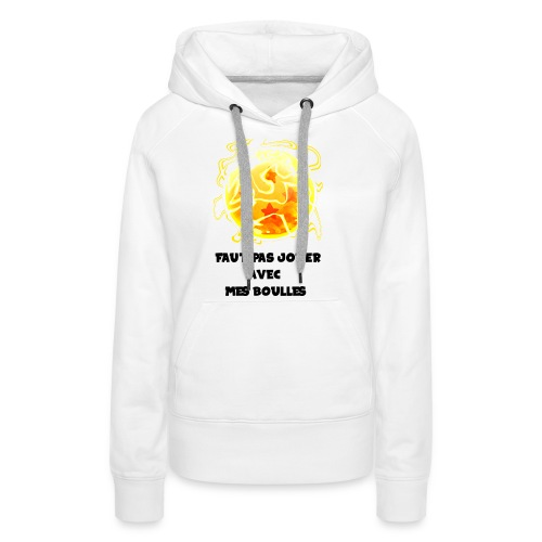 T shirt DBZ - Sweat-shirt à capuche Premium pour femmes