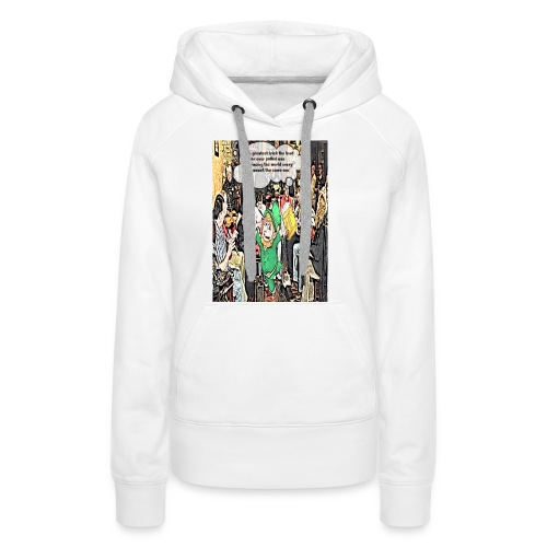 The Greatest Trick The Trad Player Ever Pulled - Women's Premium Hoodie