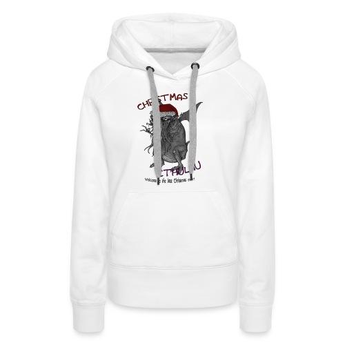 ChristmasCthulhu - Women's Premium Hoodie