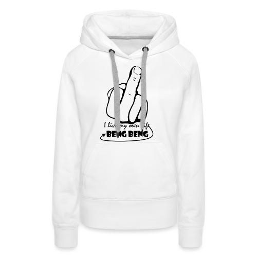 ontwerp png - Vrouwen Premium hoodie
