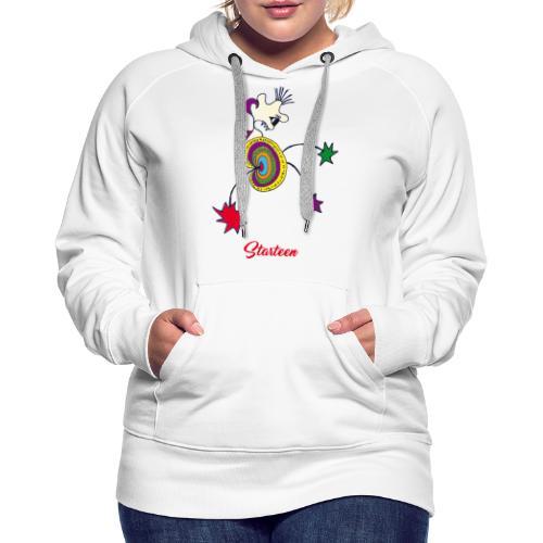 Starteen - Sweat-shirt à capuche Premium pour femmes