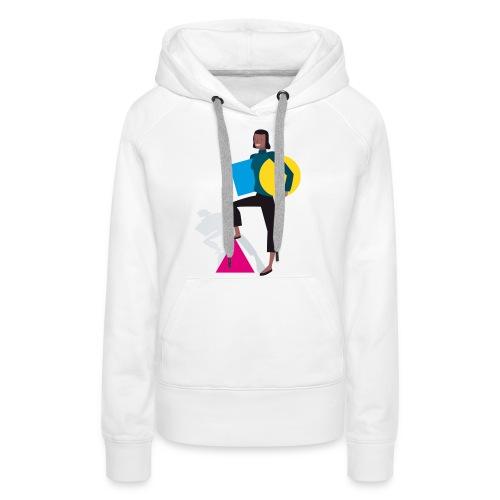 Corporate-Design-Logo - Frauen Premium Hoodie