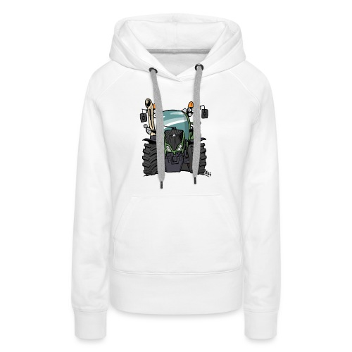 0195 F - Vrouwen Premium hoodie