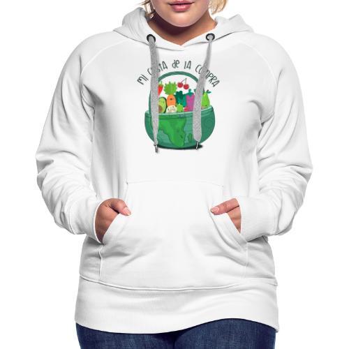 Mi cesta de compra - Sudadera con capucha premium para mujer