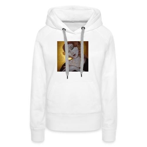 goudgroot-jpg - Vrouwen Premium hoodie