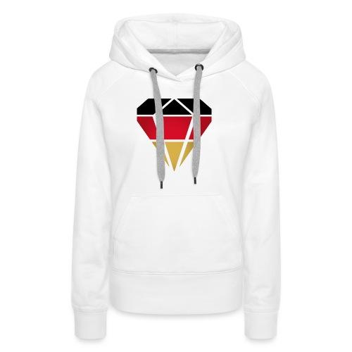 Diamond Germany (Diamant Deutschland ) - Frauen Premium Hoodie