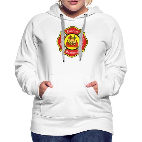 Feuerwehrschild - Frauen Premium Hoodie