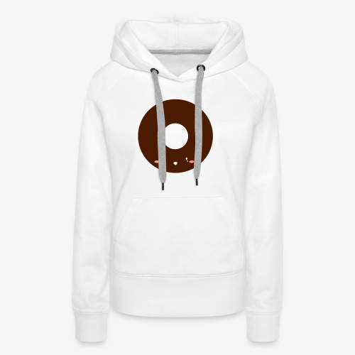 Happy Doughnut All Ages Perfect Gift - Women's Premium Hoodie