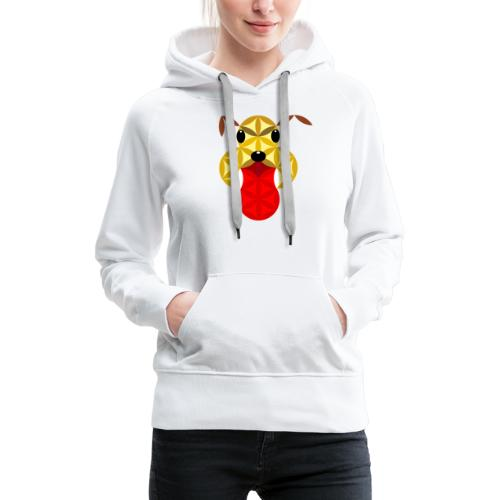 The Dog Of Life - Sacred Animals - Women's Premium Hoodie