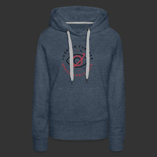 Space Individuals - Looking Further White - Women's Premium Hoodie