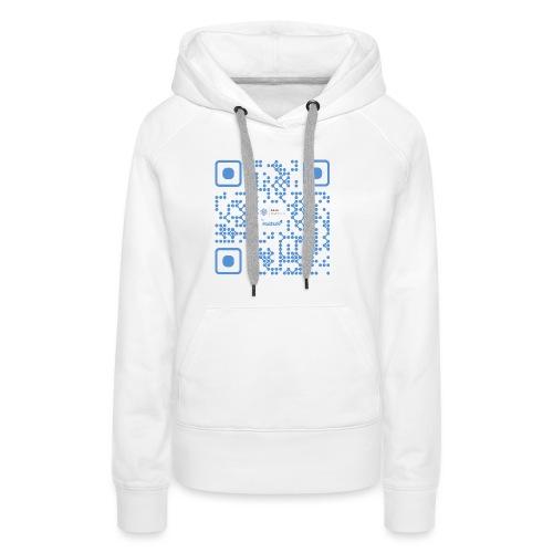 QR Maidsafe.net - Women's Premium Hoodie