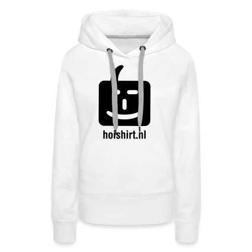 hoi back ai - Vrouwen Premium hoodie