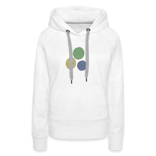 Kreise, Symbole, Figuren - Frauen Premium Hoodie